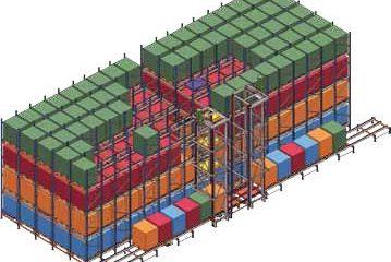 Automatic Storage System   سیستم مکانیزاسیون انبار