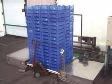 Stack palletiser Cordelia SA